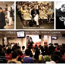 Ps Victor G preaching @ Charis Christian Centre (Cheras) KL