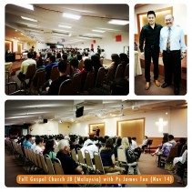Full Gospel Church Johor Bahru (Malaysia) with Ps James Tan