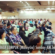 Centre of Revival KL (Feb 2017) with Pastor Ronnie Chin