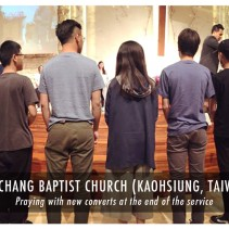 Wu Chang Baptist Taiwan (April 2017) with Pastor John Kuo